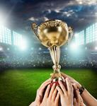 Сlipart Trophy Winning Success Sports Team Human Hand   BillionPhotos