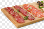 Сlipart meat platter food antipasto salami photo cut out BillionPhotos
