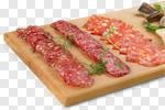 Сlipart meat platter food antipasto salami photo cut out BillionPhotos
