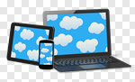 Сlipart Laptop Digital Tablet Cloud Mobile Phone Smart Phone 3d cut out BillionPhotos