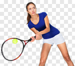 Сlipart Tennis Sport Women Athlete Playing photo cut out BillionPhotos