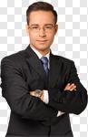 Сlipart Business Men Confidence Businessman Professional Occupation photo cut out BillionPhotos
