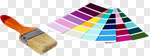 Сlipart Paint Paintbrush Color Swatch Color Image House photo cut out BillionPhotos