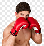 Сlipart Boxing Punching Men Exercising Sport photo cut out BillionPhotos