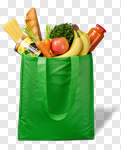 Сlipart Bag Groceries Recycling Environment reusable photo cut out BillionPhotos