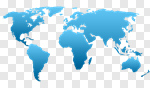 Сlipart World Map Earth Map Vector Computer Icon vector cut out BillionPhotos
