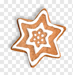 Сlipart Christmas Cookie Gingerbread Cookie Food Christmas Decoration photo cut out BillionPhotos