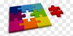 Сlipart Jigsaw Piece Puzzle Jigsaw Puzzle Connect the Dots Choice 3d cut out BillionPhotos
