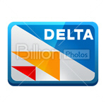 Сlipart credit card card bank card delta delta card vector icon cut out BillionPhotos