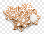 Сlipart Christmas Cookie Gingerbread Cookie Food Holiday photo cut out BillionPhotos