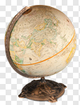 Сlipart Globe Education Isolated Single Object Planet photo cut out BillionPhotos