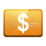 Сlipart credit card card bank card dollar money vector icon cut out BillionPhotos