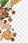 Сlipart Cookie Christmas Bakery Cake Holiday photo cut out BillionPhotos