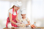 Сlipart mom kid cooking kitchen toddler   BillionPhotos