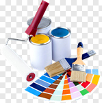 Сlipart Paint Paint Can Paintbrush Home Improvement Color Image photo cut out BillionPhotos