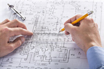 Сlipart hand engineering engineer building blueprint photo  BillionPhotos