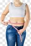Сlipart fat overweight diet stomach tape photo cut out BillionPhotos