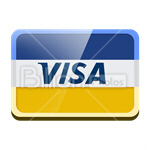 Сlipart credit card card bank card Plastic Card Visa vector icon cut out BillionPhotos