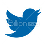 Сlipart Twitter Twitter link Twitter icon Twitter favicon Twitter bird vector icon cut out BillionPhotos