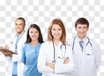 Сlipart medical team students doctor physiotherapists photo cut out BillionPhotos