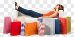 Сlipart Shopping Shopping Bag Women Bag Tired photo cut out BillionPhotos