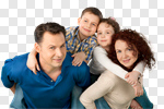 Сlipart Family Cheerful Child People Smiling photo cut out BillionPhotos