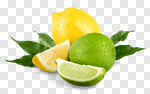 Сlipart lemon lime acid yellow citric photo cut out BillionPhotos