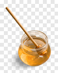 Сlipart Honey Honeycomb Stick Jar Pouring photo cut out BillionPhotos