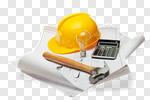 Сlipart Blueprint Construction Worker Engineering Hardhat Home Improvement photo cut out BillionPhotos