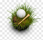 Сlipart Golf Golf Ball Tee Ball Sport photo cut out BillionPhotos