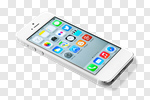 Сlipart iphone white phone screen new photo cut out BillionPhotos