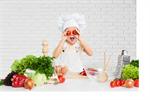 Сlipart kitchen kid chef girl cooking   BillionPhotos