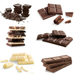Сlipart Chocolate Block White Candy Food   BillionPhotos