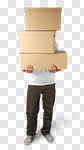 Сlipart Box Moving House Moving Office Physical Activity Motion photo cut out BillionPhotos