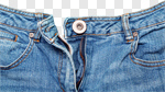 Сlipart Jeans Zipper Denim Unzipped Button photo cut out BillionPhotos