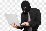 Сlipart Thief Computer Hacker Security Computer Data photo cut out BillionPhotos