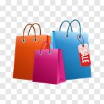 Сlipart Shopping Bag Shopping Bag Sale Retail vector cut out BillionPhotos