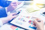 Сlipart Couple working accounting budget price graph   BillionPhotos