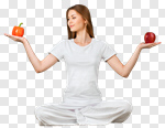 Сlipart Healthy Eating Healthy Lifestyle Yoga Women Food photo cut out BillionPhotos