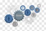 Сlipart concept teamwork resources leadership leader vector cut out BillionPhotos