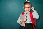 Сlipart child school genius blackboard student   BillionPhotos