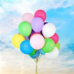 Сlipart fly balloon background decoration rubber helium   BillionPhotos