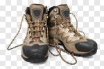 Сlipart Hiking Boot Boot Shoe Old Isolated photo cut out BillionPhotos