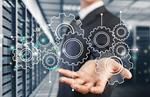 Сlipart Businessman hand  and illustration data information server system   BillionPhotos