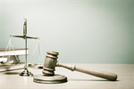 Сlipart lawyer court law scale banner photo  BillionPhotos