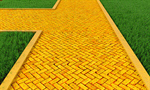 Сlipart Brick Yellow Road Footpath Gold 3d  BillionPhotos
