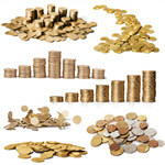 Сlipart Coins Currency Falling Credit Crunch Savings   BillionPhotos