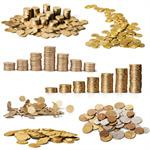 Сlipart Coins Currency Falling Credit Crunch Savings   BillionPhotos