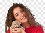 Сlipart Human Hand Kitten Domestic Cat Pets Holding photo cut out BillionPhotos