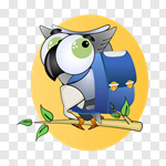 Сlipart Owl Studying Child Education School vector cut out BillionPhotos